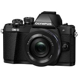 Olympus OM-D E-M10 Mark II Mirrorless Black Camera with 14-42mm EZ Lens