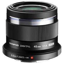 Olympus M.Zuiko 45mm f/1.8 Micro Four Thirds Lens