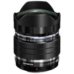 Olympus M.Zuiko 8mm f/1.8 Fisheye Pro Lens