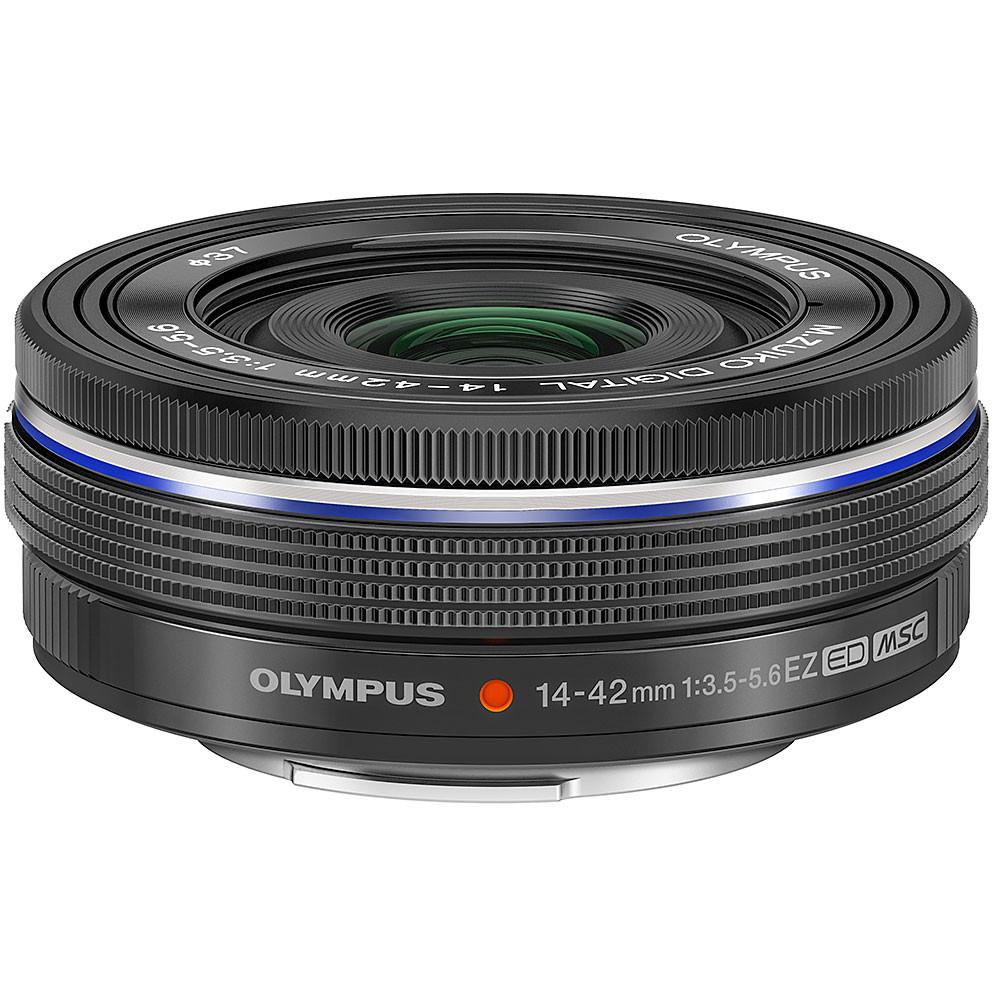 Olympus ED M.14-42mm f3.5-5.6 EZ Micro 4:3 Black Lens