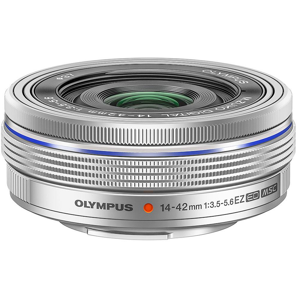 Olympus ED M.14-42mm f3.5-5.6 EZ Micro 4:3 Silver Lens