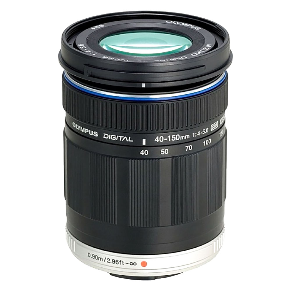 Olympus M.Zuiko Digital ED 40-150mm f/4.0-5.6 Telephoto Lens - Black