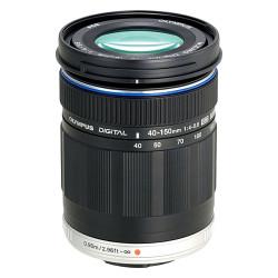 Olympus M.Zuiko Digital ED 40-150mm f/4.0-5.6 Telephoto Lens - Black