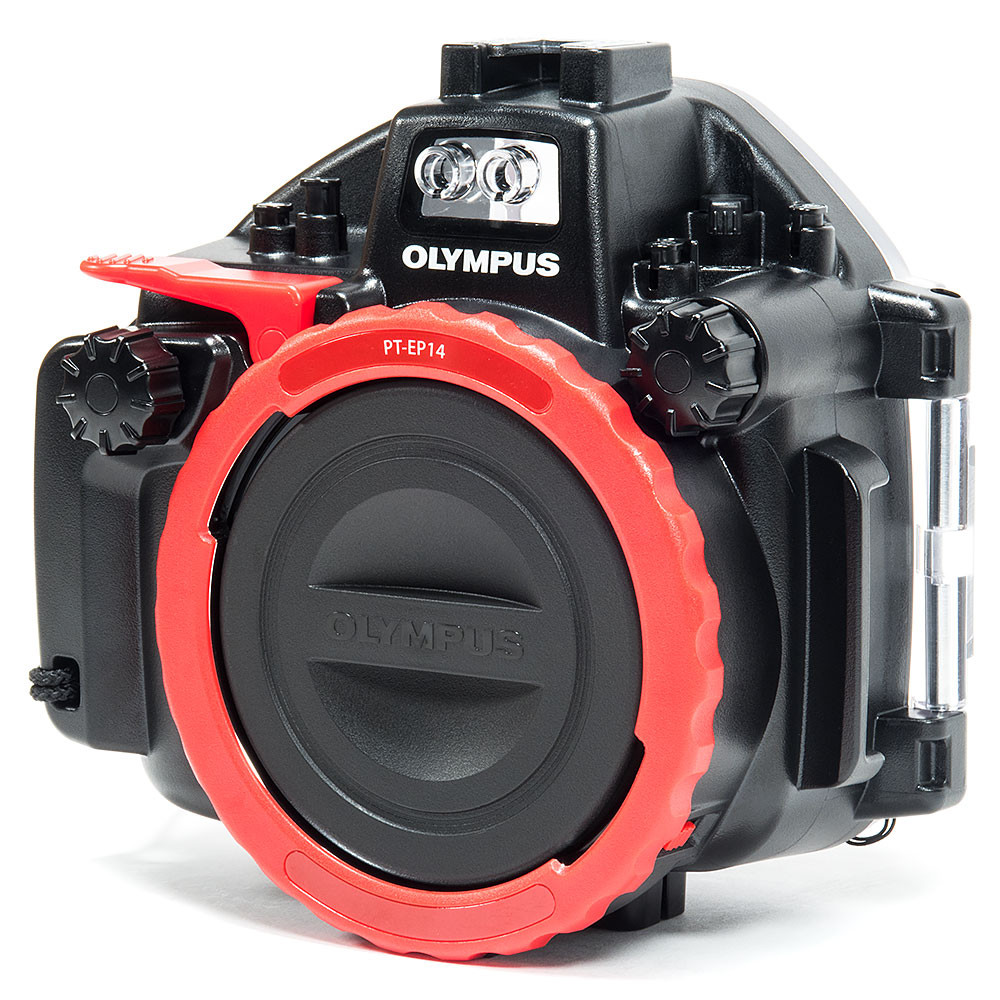 Olympus PT-EP14 Underwater Housing for Olympus OM-D E-M1 Mark II Mirrorless Camera