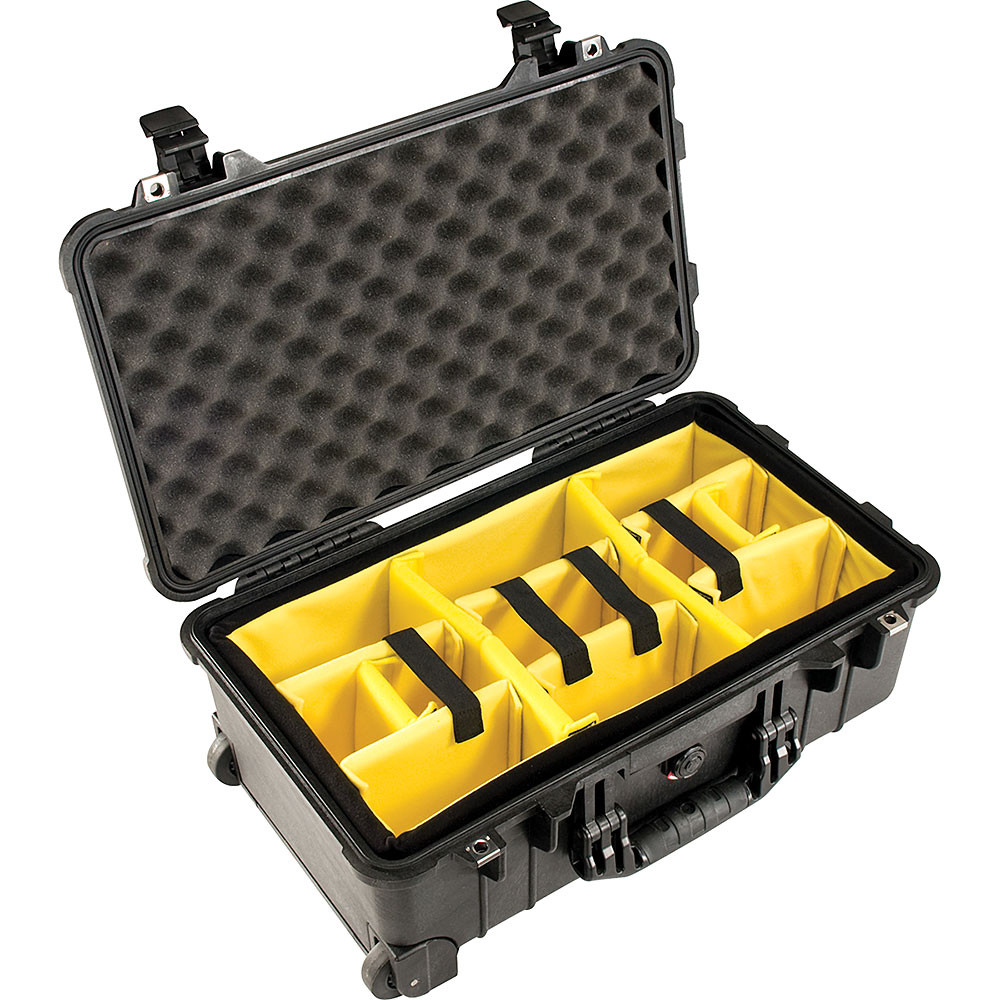 Pelican 1510 Case with Padded Dividers