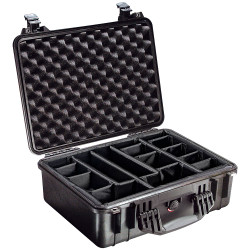 Pelican 1520 Case with Padded Velcro Divider Set