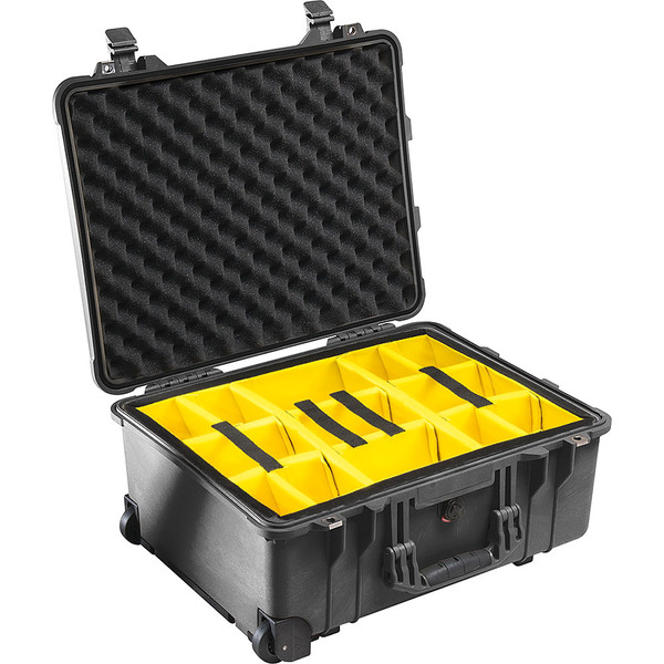 Pelican 1560 Case with Padded Dividers