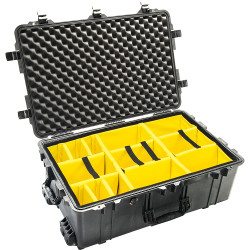 Pelican 1650 Case with Padded Dividers