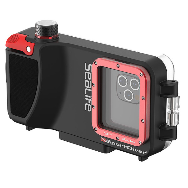 SeaLife SportDiver Underwater Housing for iPhone 7, 7 Plus, 8, 8 Plus, X, Xr, Xs, Xs Max, 11, 11 Pro Max, SE (2nd Gen), 12, 12 Mini, 12 Pro, and 12 Pro Max