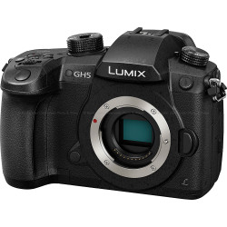 Panasonic LUMIX DMC-GH5 Pro Photo Performance Camera Body with 4K Cinematic Video