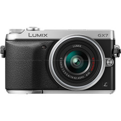 Panasonic LUMIX DMC-GX7 Interchangeable Lens (DSLM) Camera - Silver