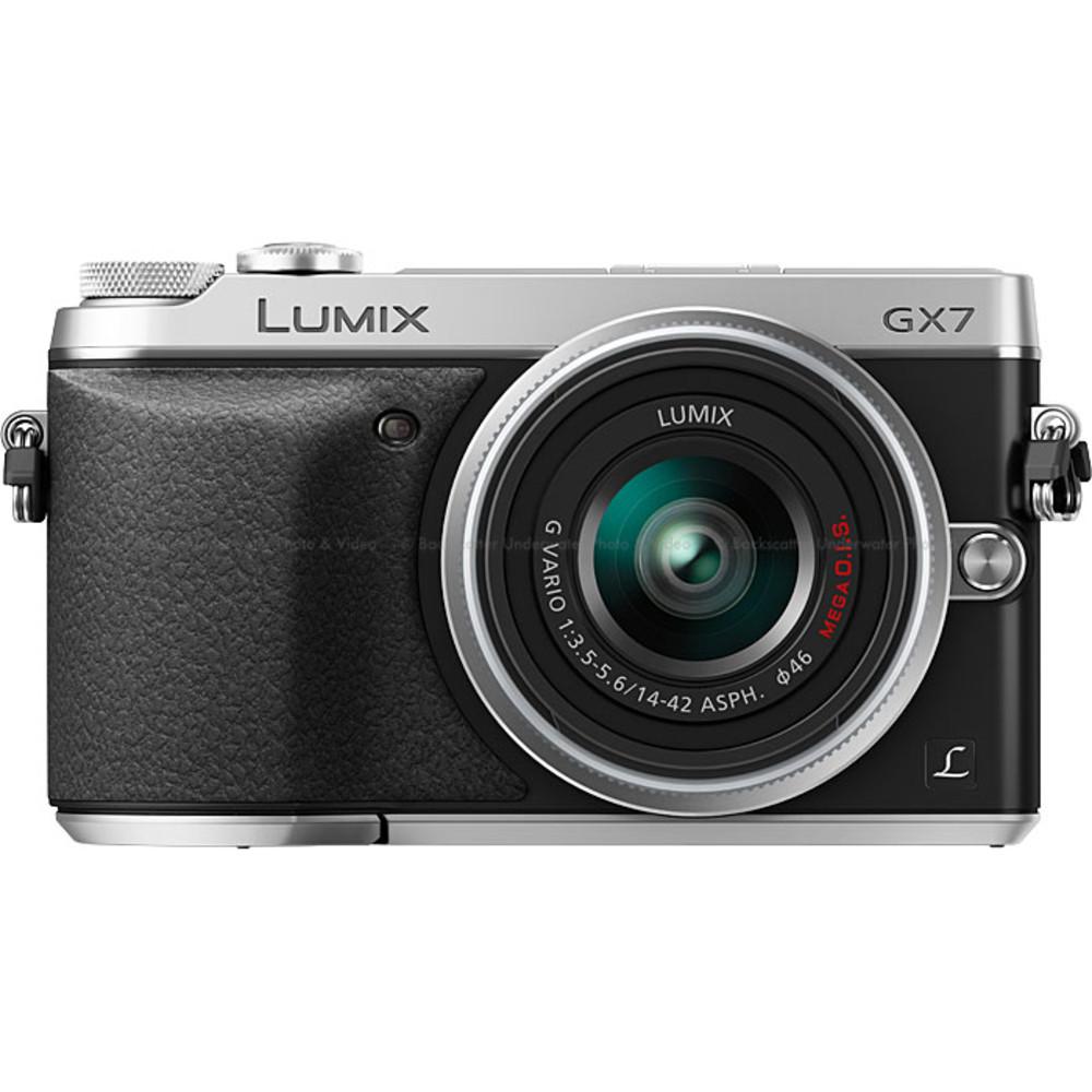 Panasonic LUMIX DMC-GX7 Interchangeable Lens (DSLM) Camera - Silver