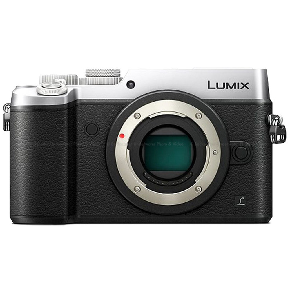 Panasonic LUMIX GX8 Mirrorless Micro 4/3 Camera - Silver Body Only
