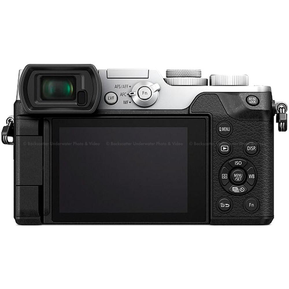 Panasonic Lumix Gx8 Mirrorless Micro 4 3 Camera Silver Body Only G X Vario 12 35mm F 28 Asph Power Ois H Hs12035e Prev Next