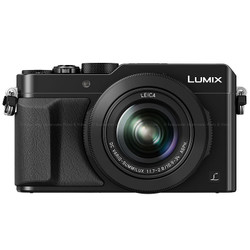 Panasonic LUMIX LX100 Integrated Leica DC Lens Compact Camera - Black