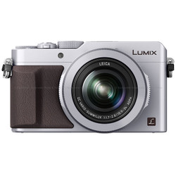 Panasonic LUMIX LX100 Integrated Leica DC Lens Compact Camera - Silver