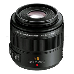 Panasonic Lumix G Micro 4:3 LEICA DG MACRO-ELMARIT 45mm / F2.8 ASPH. / MEGA O.I.S. Lens