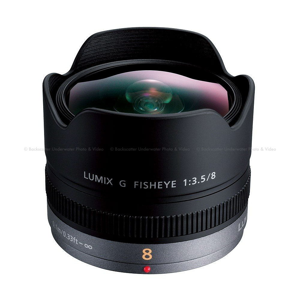 Panasonic Lumix G Micro 4/3 FISHEYE 8mm f/3.5 Lens