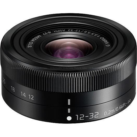 Panasonic LUMIX G Vario Vario 12-32mm / F3.5-5.6 ASPH. H-FS12032K Lens