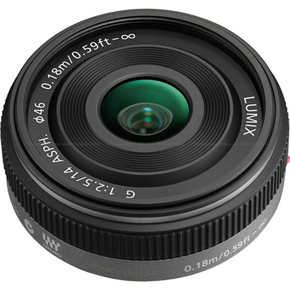 Panasonic Lumix G 14mm / F2.5 ASPH. Lens