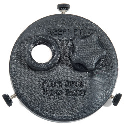 ReefNet Micro Snoot Fiber Optic Mount Base for Inon D2000 & Z240 Strobes