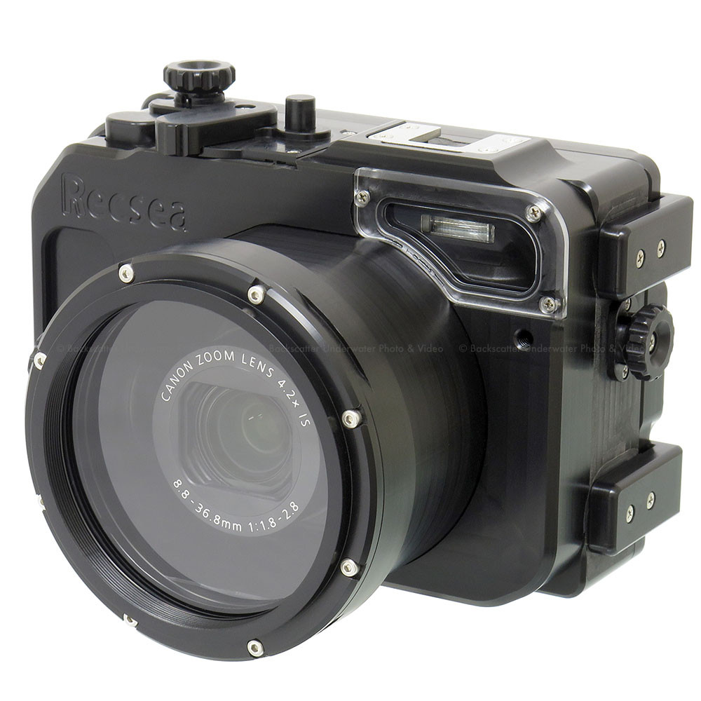 Recsea CWC-G7XII Underwater Housing for Canon G7 X MkII Compact Camera