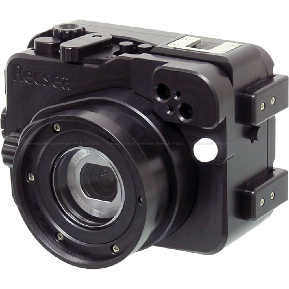 Recsea CWC-G9X Underwater Housing for Canon Powershot G9 X Compact Camera