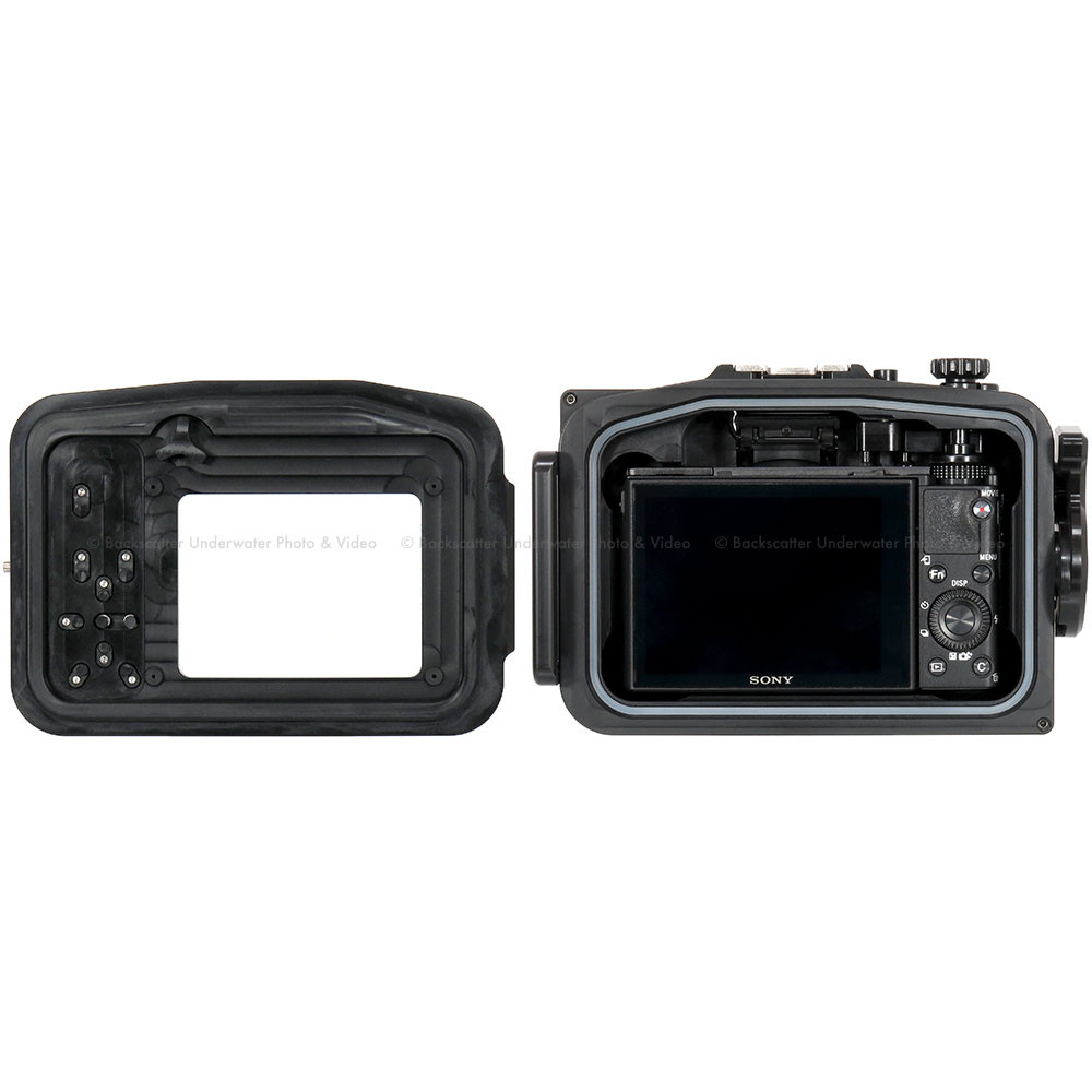 Recsea CWS-RX100IV Underwater Housing for SONY Cyber-shot ...