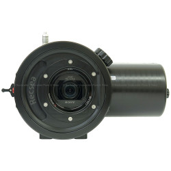 Recsea RVH-AX55-LCD Underwater Housing for Sony FDR-AX40, FDR-AX53 & FDR-AX55 4K Camcorder