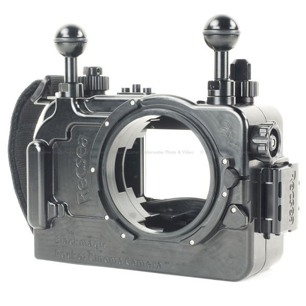 Recsea RVH-BMPCC Underwater Housing for Black Magic Pocket Cinema Camera