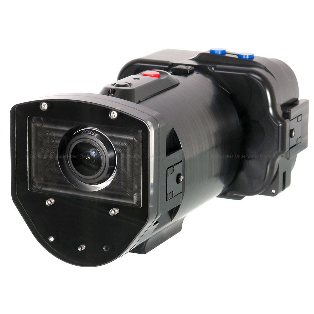 Recsea RVH-X1000 Underwater Housing for Sony FDR-X1000V 4K Action Camera and SONY RM-LVR2 LiveView Remote