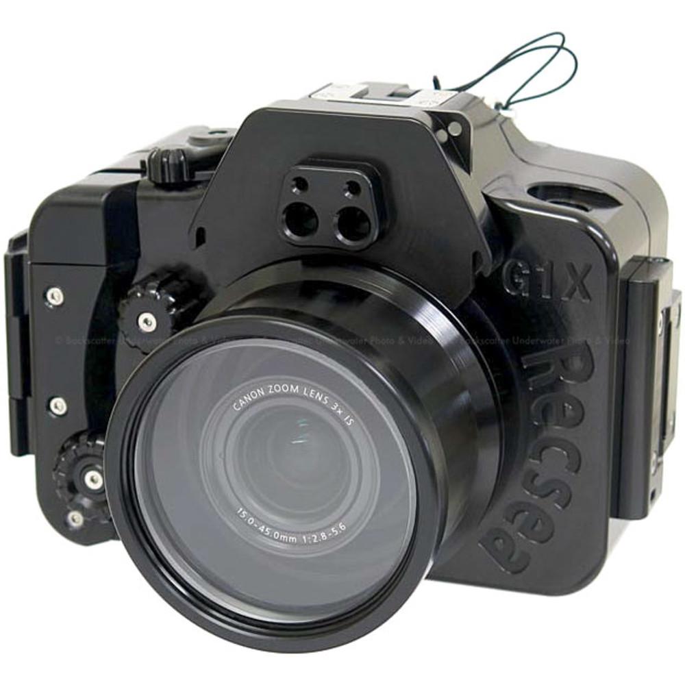 Recsea WHC-G1XMkIII Underwater Housing for Canon G1X Mark III Compact Camera