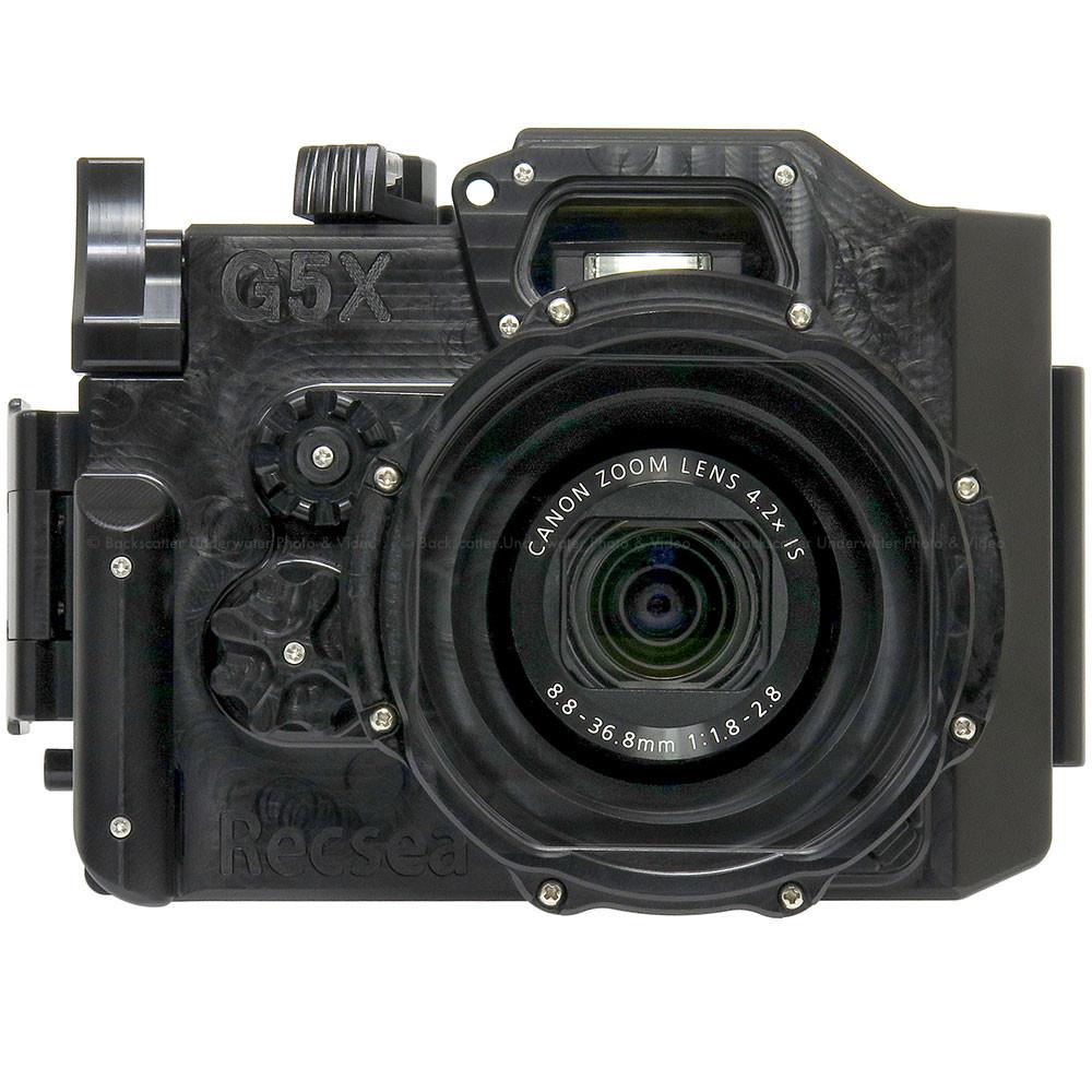 Recsea WHC-G5X Underwater Housing for Canon Powershot G5 X Compact Camera