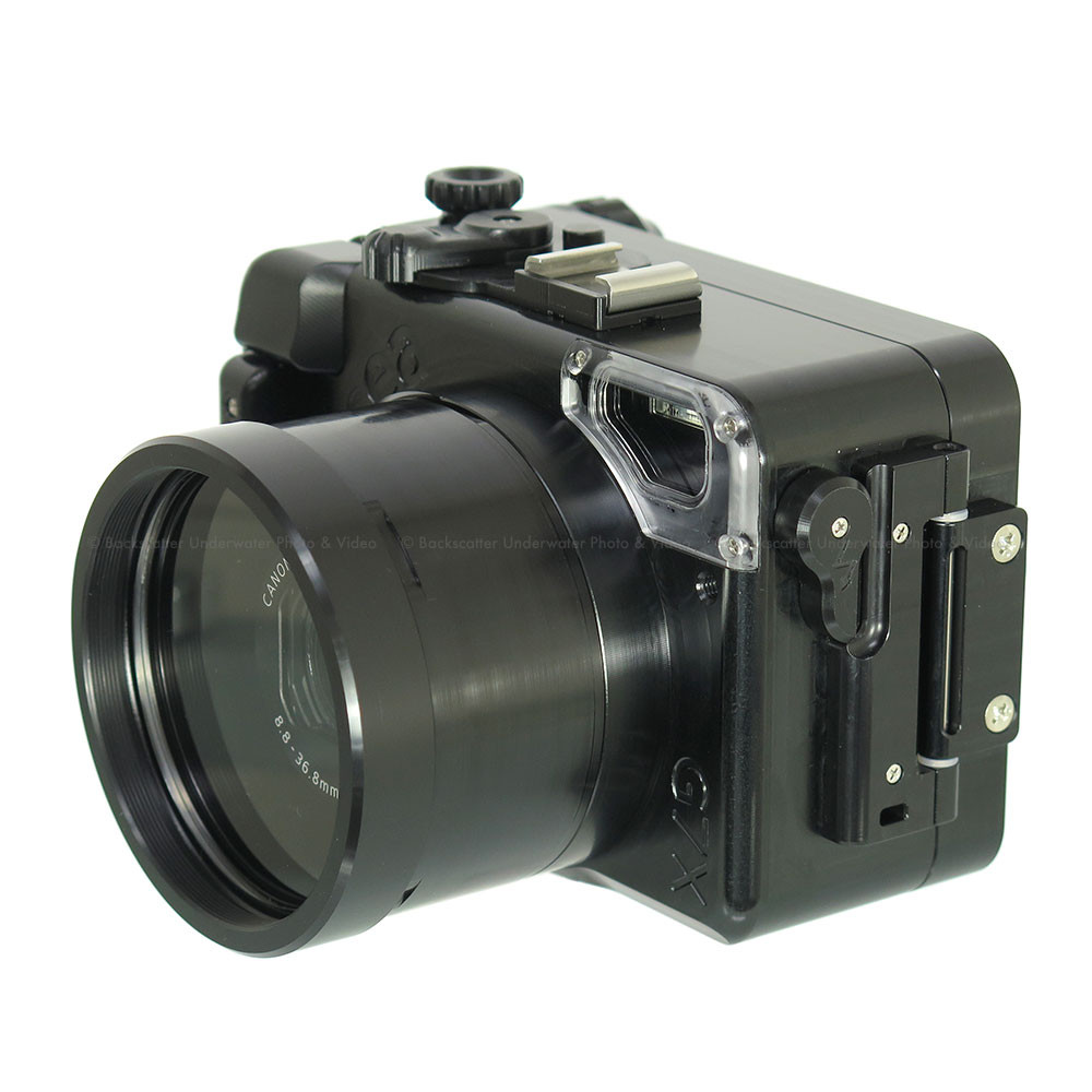 Recsea WHC-G7X Underwater Housing for Canon G7 X Compact Camera