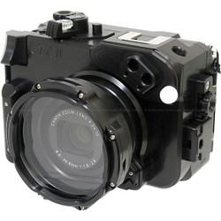Recsea WHC-G7XMKII Underwater Housing for Canon G7X II Camera
