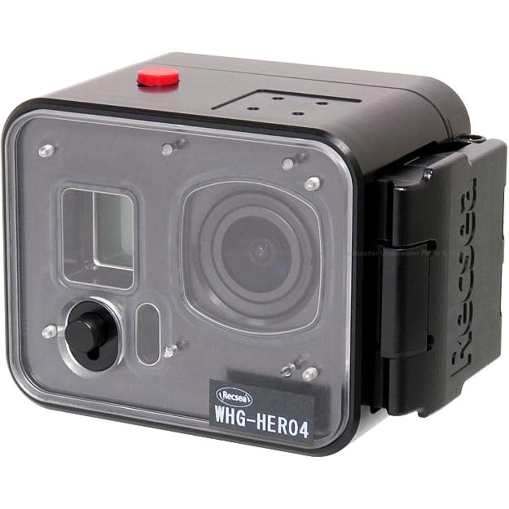 Recsea WHG-HERO4 Underwater Housing for GoPro Hero 3, 3+ & 4 Action Cameras