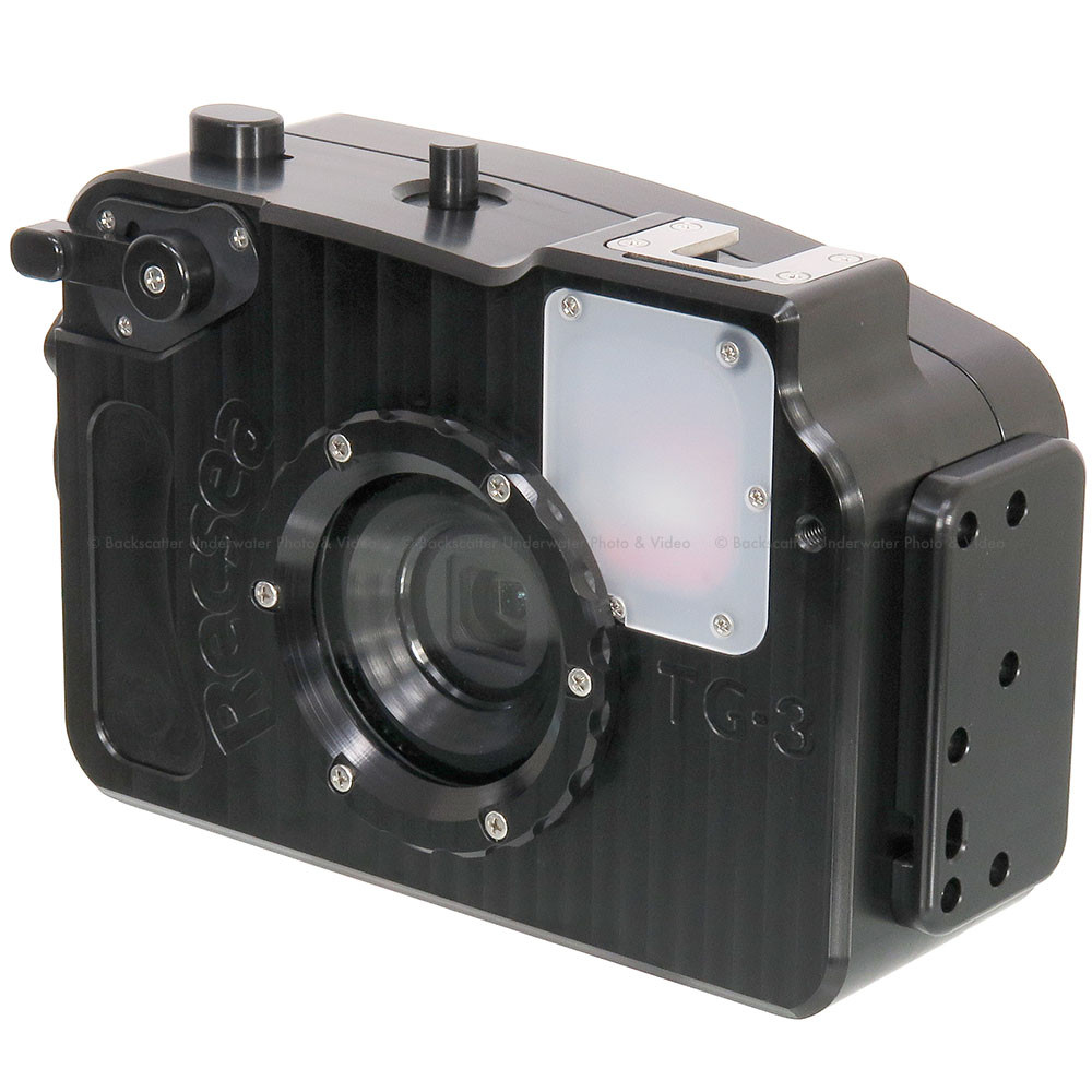 Recsea WHOM-TG3/4 Deep Underwater Housing for Olympus TG-3 & TG-4 Compact Cameras