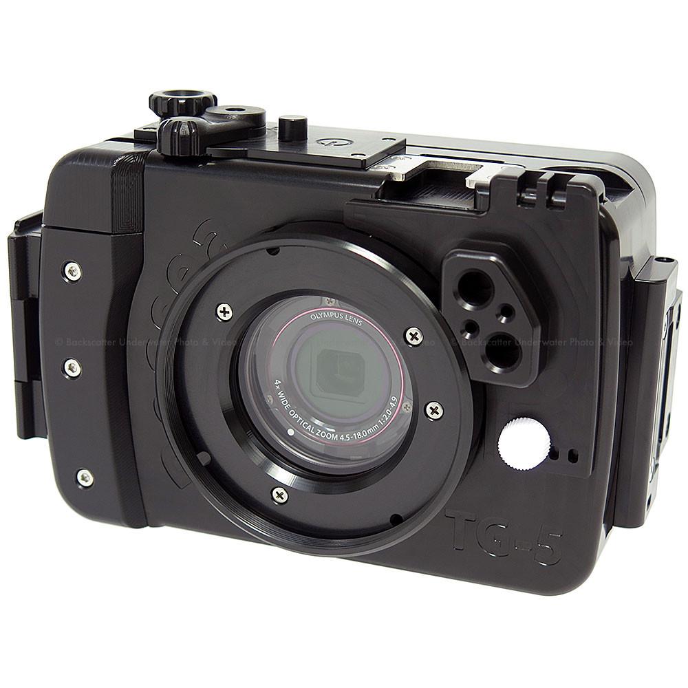 Recsea WHOM-TG5-INT Underwater Housing for Olympus Tough TG-5 Waterproof Camera