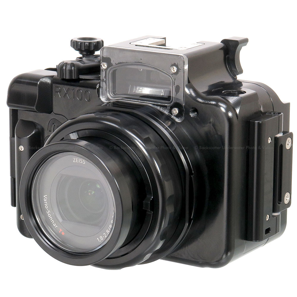 Recsea WHS-RX100IV Underwater Housing for SONY Cyber-shot DSC-RX100 IV 4K Compact Camera