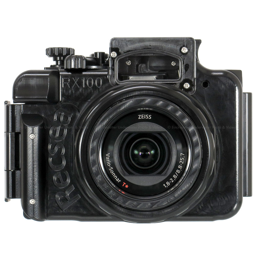 Recsea WHS-RX100IV Underwater Housing for SONY Cyber-shot ...