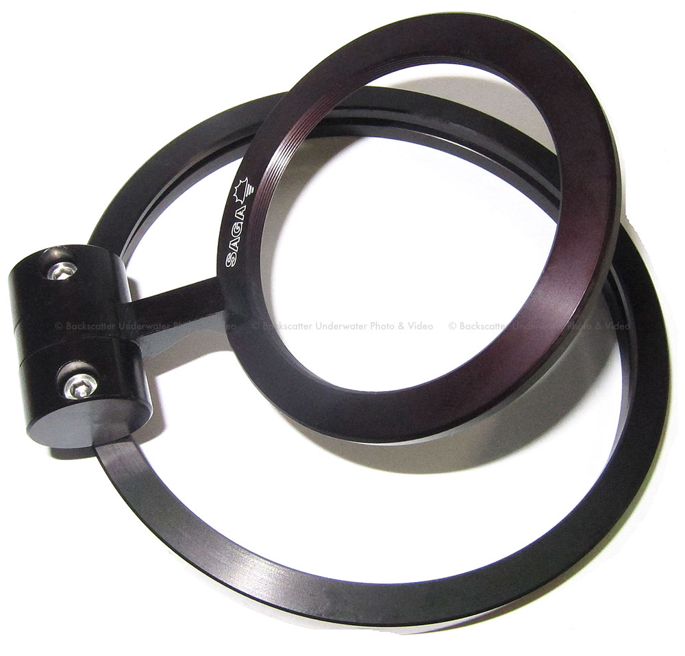 SAGA Wet Lens Single Flip Adapter for Subal Ports