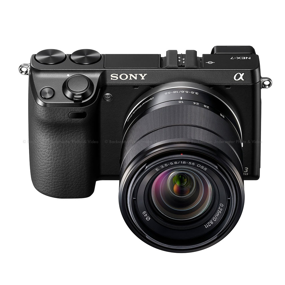 sony nex 7 camera with 18 55mm lens rh backscatter com NEX-7 Camera Sony NEX 7 Release Date