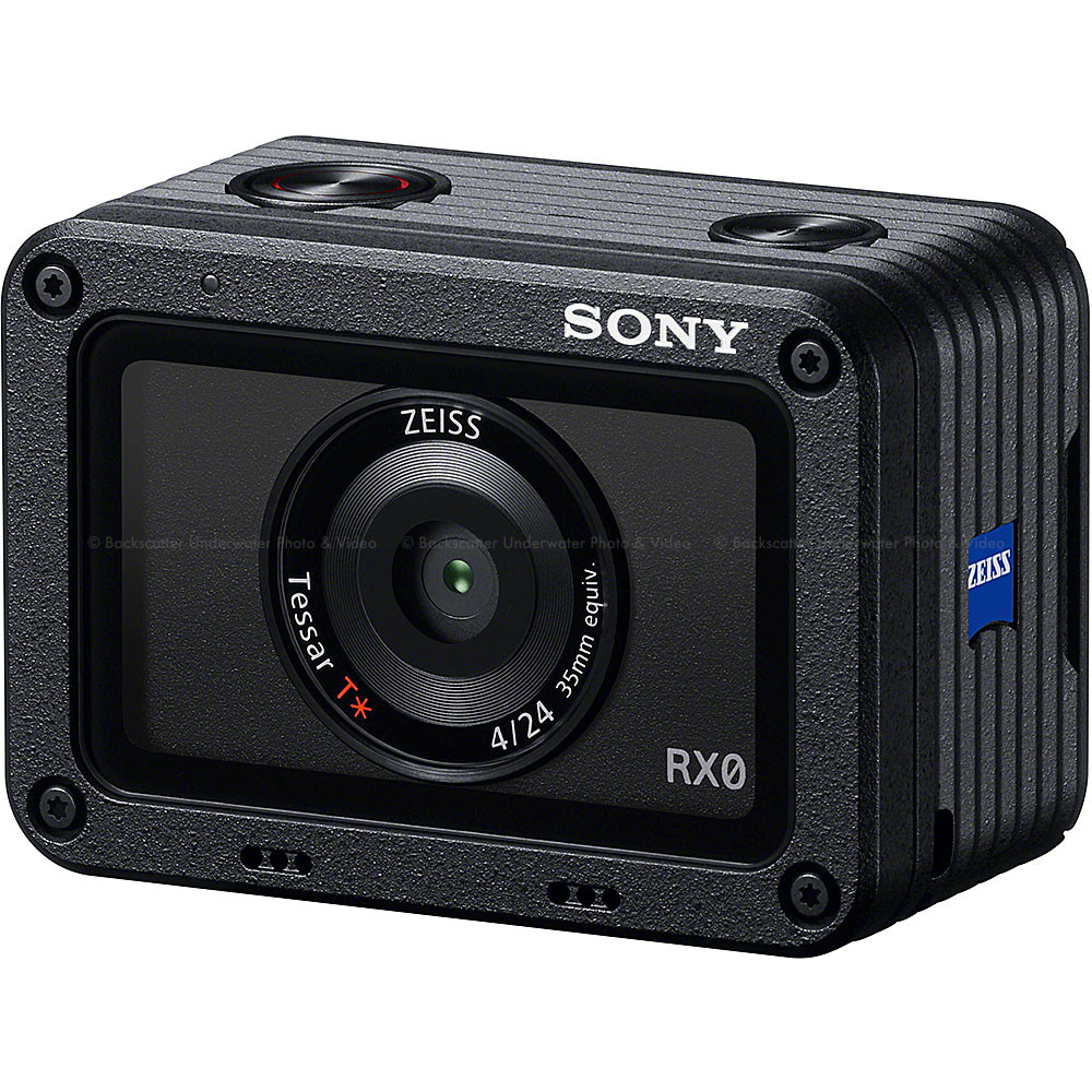 Sony RX0 Ultra-Compact Shockproof Waterproof Action Camera