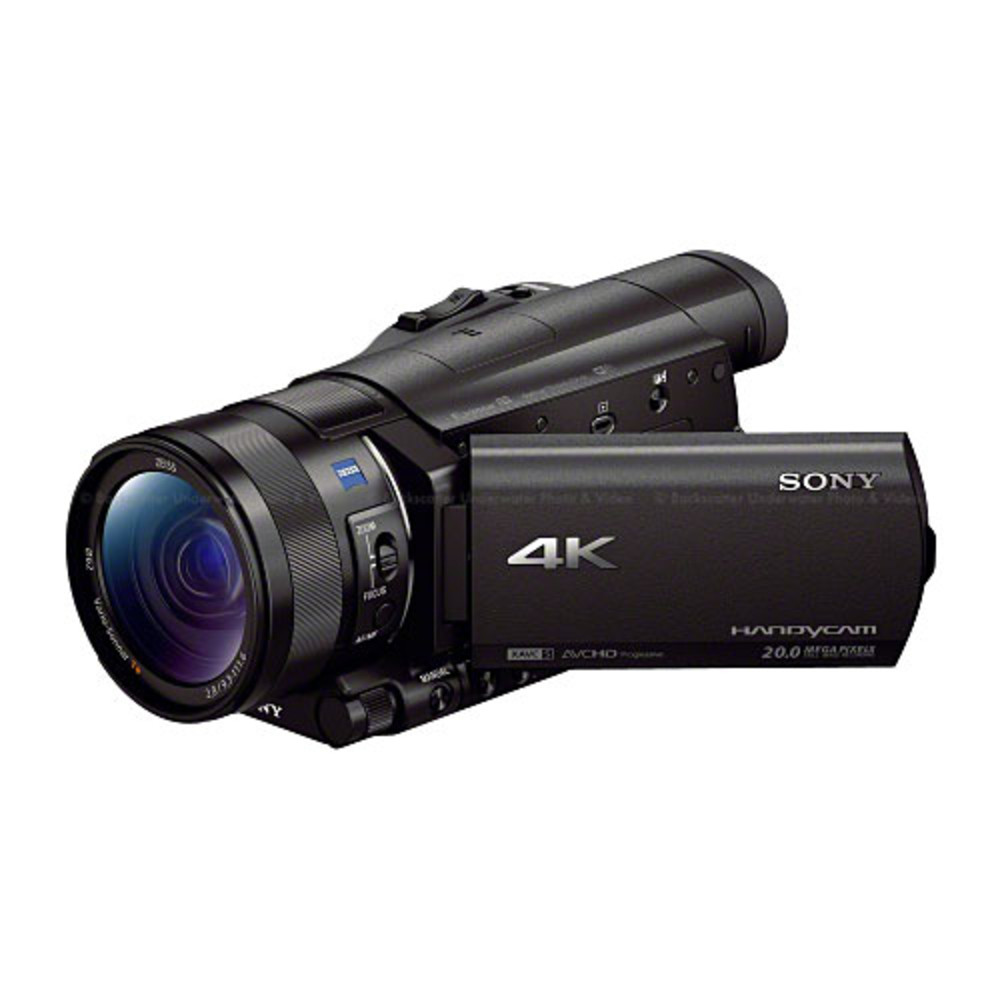 Sony FDR-AX100/B 4K Camcorder with 1 inch sensor