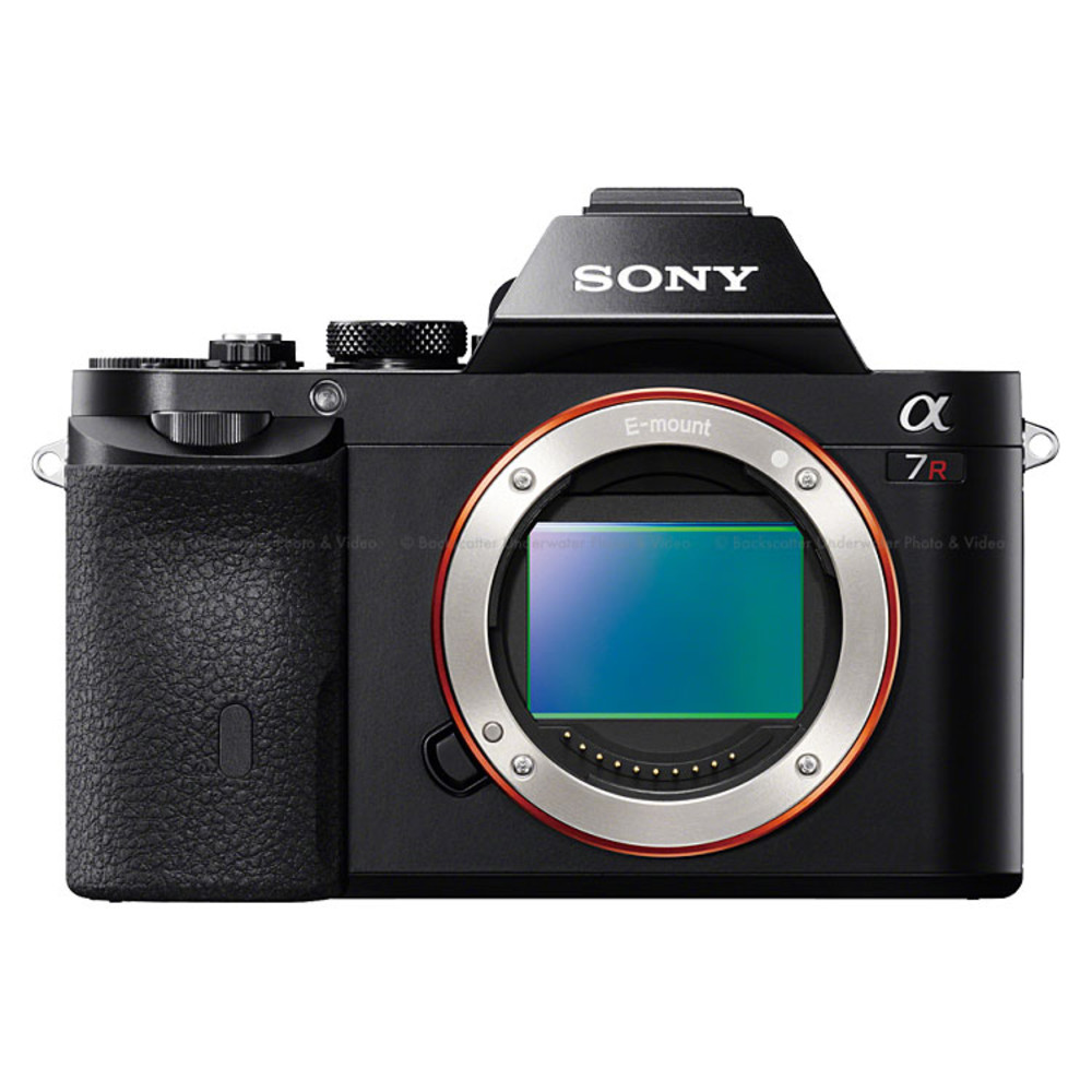Sony a7R Full Frame Mirrorless Camera Body