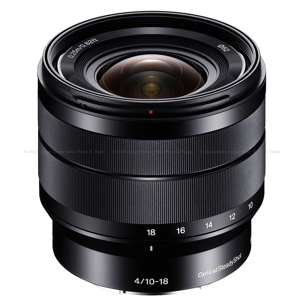 Sony E 10-18mm f/4 OSS E-mount Wide Zoom Lens