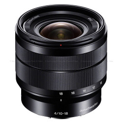 Sony E 10-18mm f/4 OSS E-mount Wide Zoom Lens