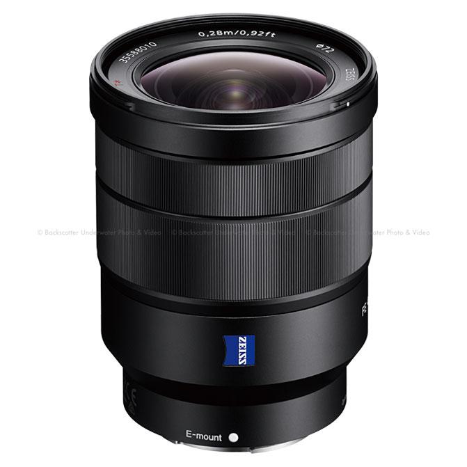 Sony Vario-Tessar T* FE 16-35mm F4 ZA OSS Wide Angle Zoom Lens