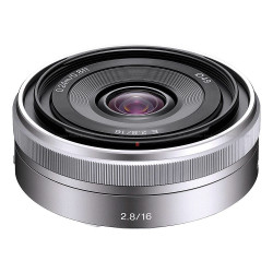 Sony Alpha 16mm f/2.8 Wide-Angle Lens