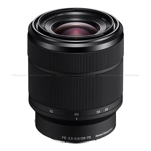 Sony Full-Frame E-Mount FE 28-70mm f/3.5-5.6 OSS Full-frame Zoom Lens